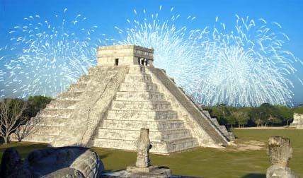 Пирамида майа. Конец света отменили.